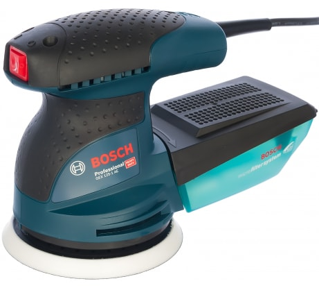 Фото эксцентриковой шлифмашины Bosch GEX 125-1 AE Professional 0.601.387.500