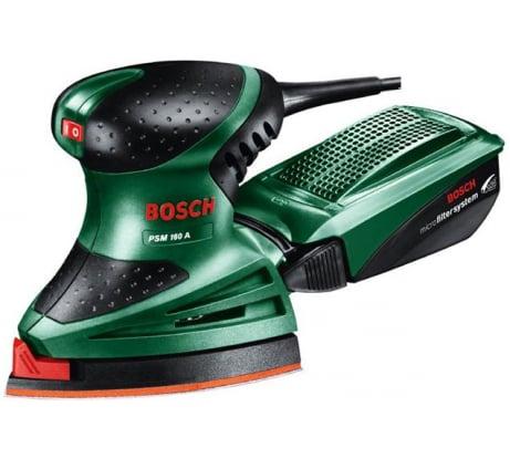 Фото мультей шлифовальная машина Bosch PSM 160 A 603377021