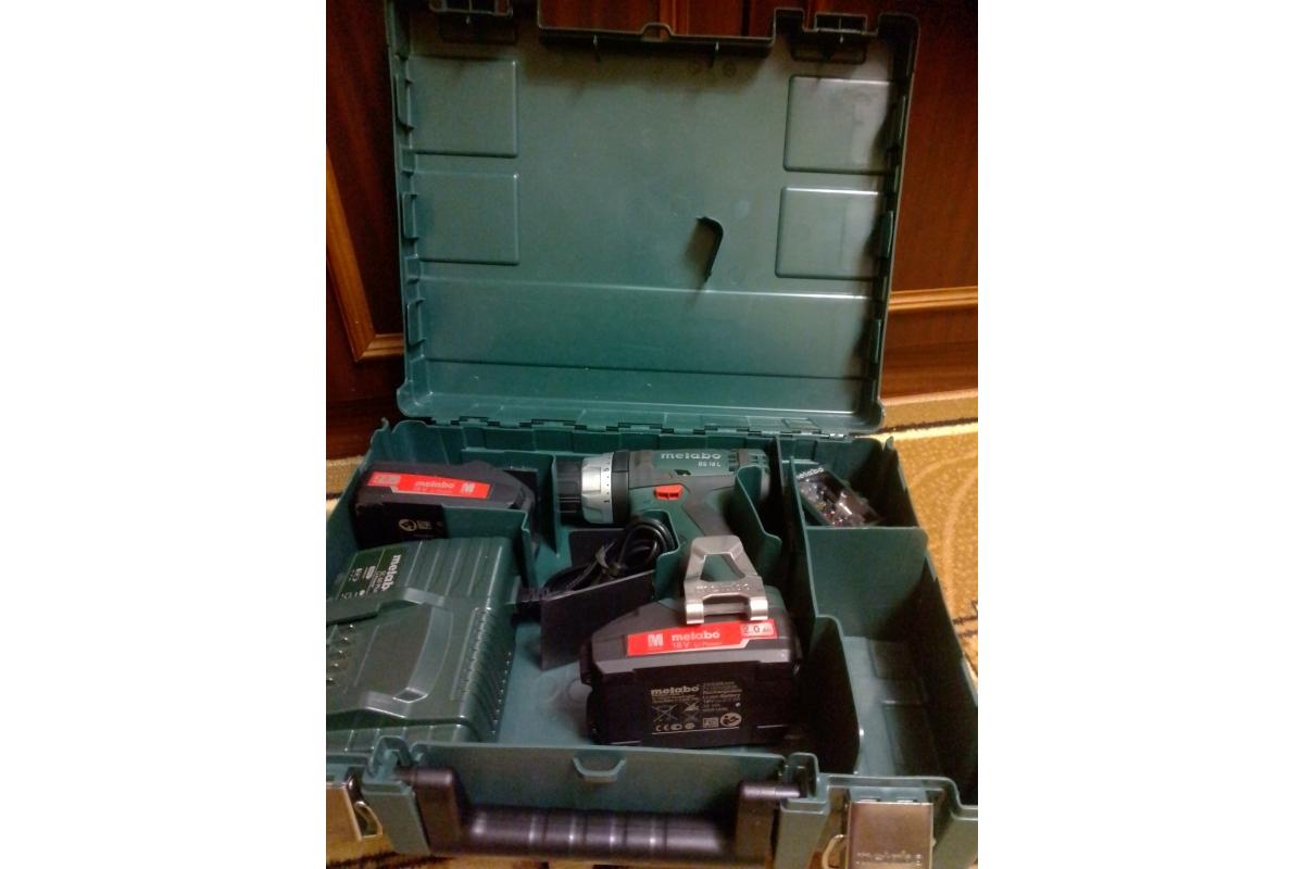 Аккумуляторный винтоверт Metabo BS 18 L 602321500  7