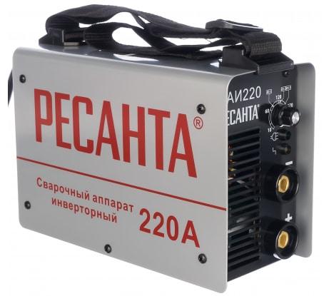 Фото инверторного сварочного аппарата Ресанта САИ 220