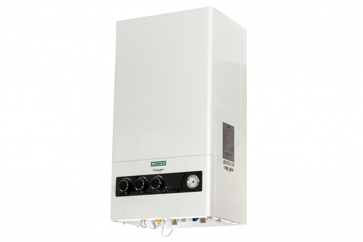 Газовый настенный котел Leberg Design 24 ASF с битермическим теплообменником, закрытая камера сгорания УТ000008693  9