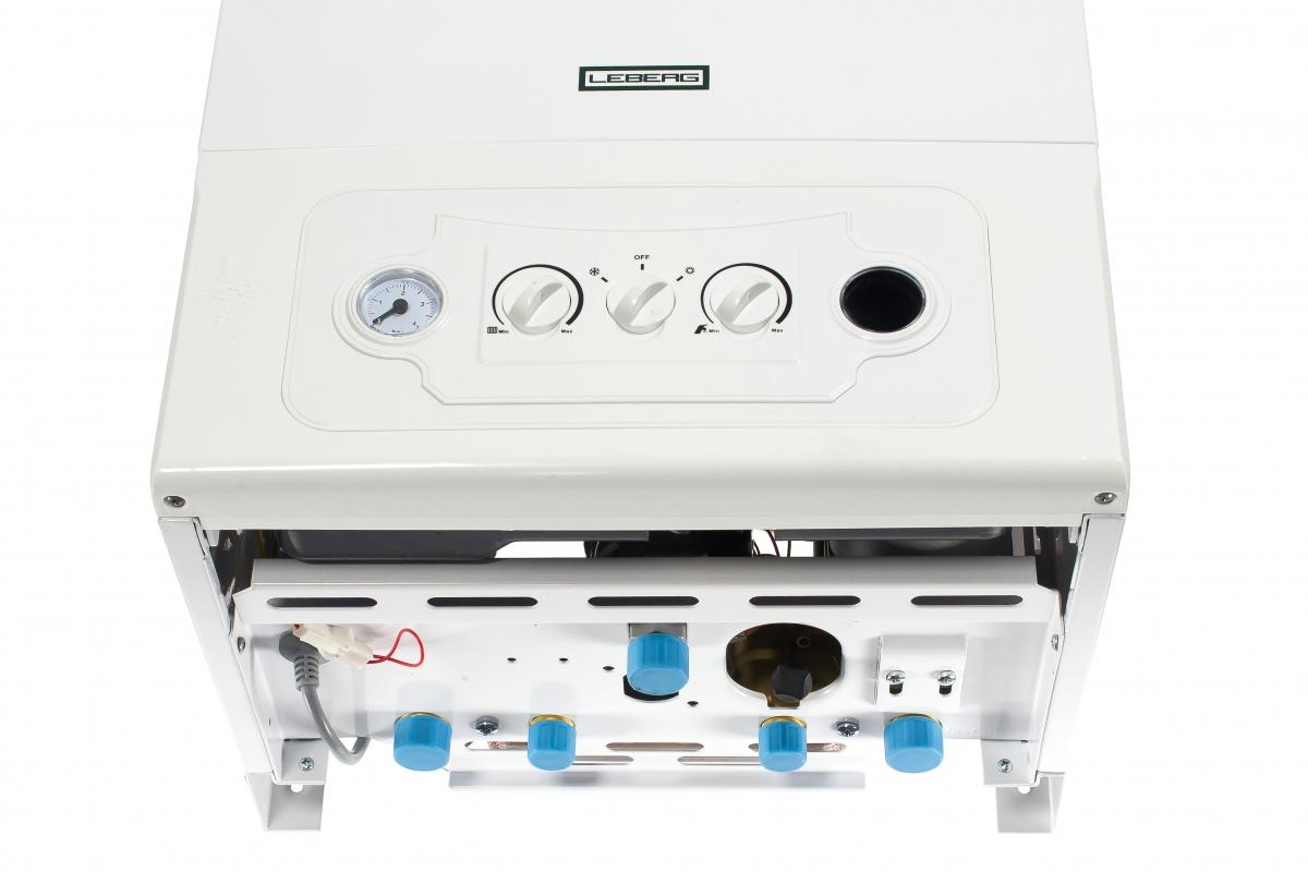 Газовый настенный котел LEBERG Flamme 32 ASD с двумя раздельными теплообменниками, закрытая камера сгорания УТ000007570  9