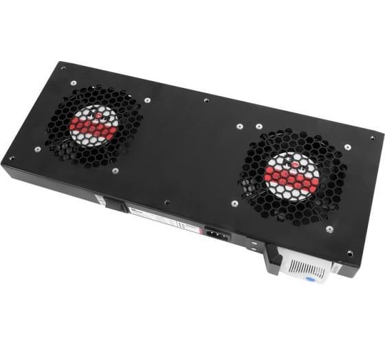 Вентиляторный модуль ЦМО Rem R-FAN, 230V, вентиляторов: 2, 86 дБ, чёрный R-FAN-2T-9005 - цена, отзывы, характеристики, фото - купить в Москве и РФ