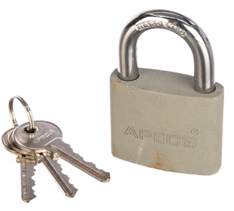 Фото висячего замка APECS PD-02-50 00017487