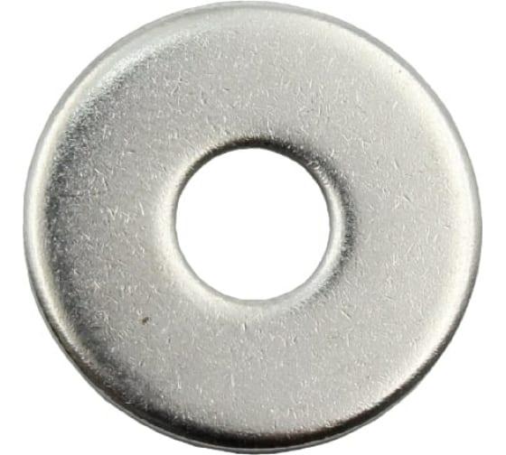 Плоская кузовная шайба Стройметиз 8 DIN 9021, цинк уп. 8 шт. 3070051 в Липецке - цены, отзывы, доставка, гарантия, скидки