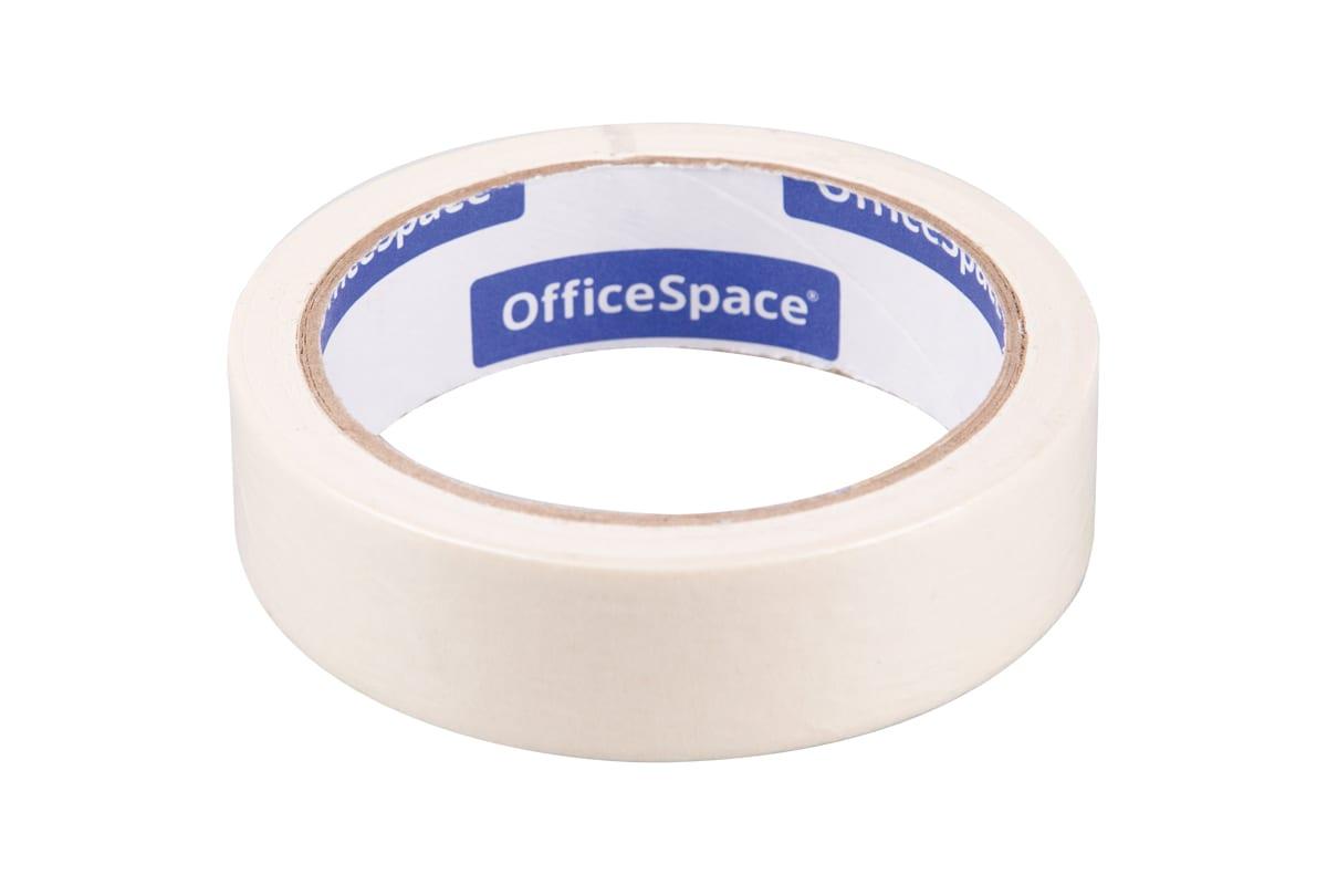 Анонс-изображение товара клейкая лента малярная officespace, 25мм*25м, шк, кл_18612