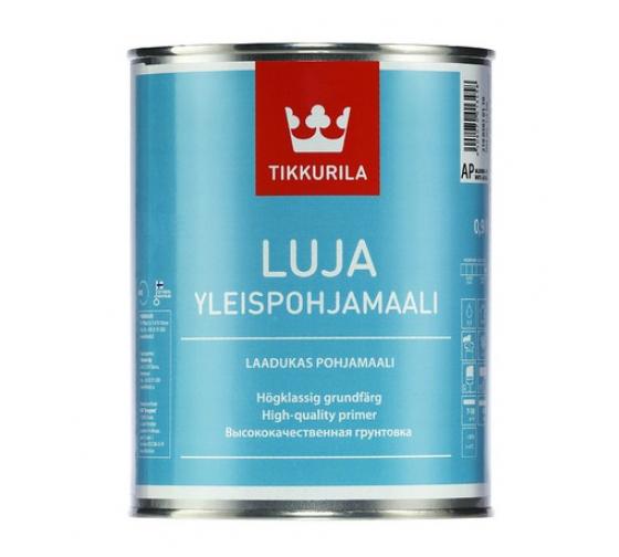 Универсальная акрилатная грунтовка Tikkurila ЛУЯ 9 л 40480 - цена, отзывы, характеристики, фото - купить в Москве и РФ