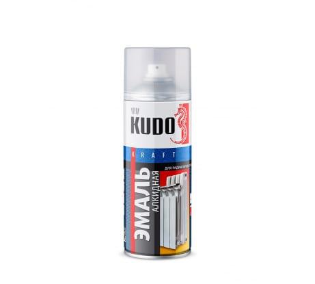 Фото эмали для радиаторов отопления KUDO белая 57557