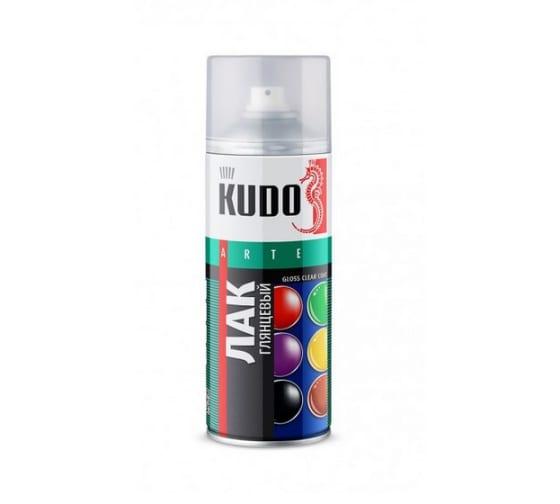 Лак аэрозоль KUDO ун. акриловый 520 мл 1/12 9002 586006 1