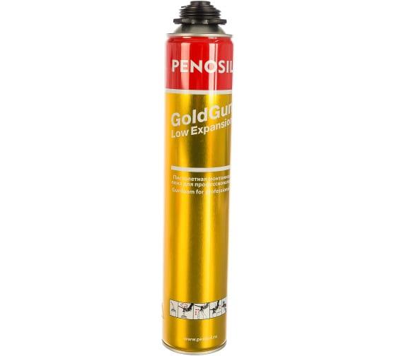 Профессиональная всесезонная монтажная пена с низким расширением Penosil GoldGun Low Expansion 750ml A1318 - цена, отзывы, характеристики, фото - купить в Москве и РФ