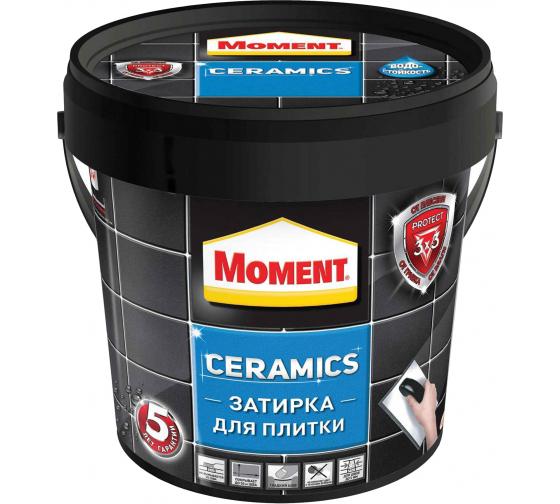 Затирка Moment Ceramics белый 1971918 1 кг Б0023042 1