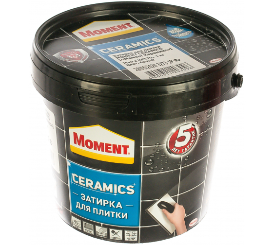 Затирка Moment Ceramics белый 1971918 1 кг Б0023042 2