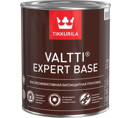 Грунтовка TIKKURILA VALTTI EXPERT BASE высокоэффективная, биозащитная 2,7л 700009579 - цена, отзывы, характеристики, фото - купить в Москве и РФ