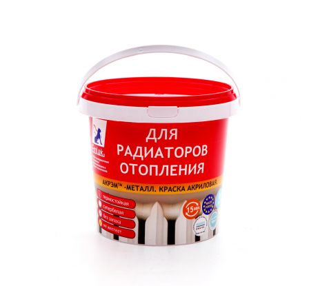 Отзывы о краске-эмали для радиаторов отопления ЭМЛАК белый 1 кг 4607014470377. Читать 1 отзыв покупателей - интернет магазин ВсеИнструменты.ру