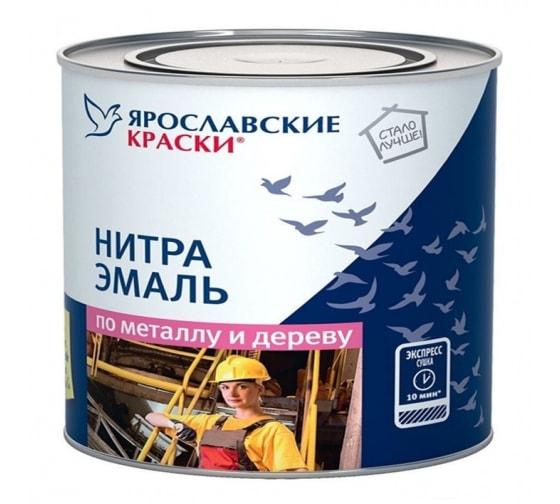Быстросохнущая нитраэмаль ЯРОСЛАВСКИЕ КРАСКИ НЦ-132, глянцевая, белая, 1.7 кг 7171.4 - цена, отзывы, характеристики, фото - купить в Москве и РФ