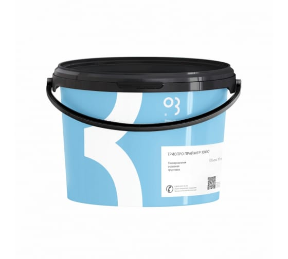 Купить укрывной грунт на водной основе триопро праймер 1000, 10 л 00-00001382 в Калуге - низкие цены, отзывы, быстрая доставка, гарантия