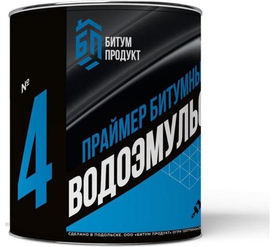 Праймер БИТУМ ПРОДУКТ водоэмульсионный 2 кг BP-15 - цена, отзывы, характеристики, фото - купить в Москве и РФ