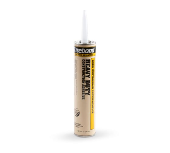 Сверхсильный монтажный клей Titebond Heavy Duty желтый картридж 5261 3