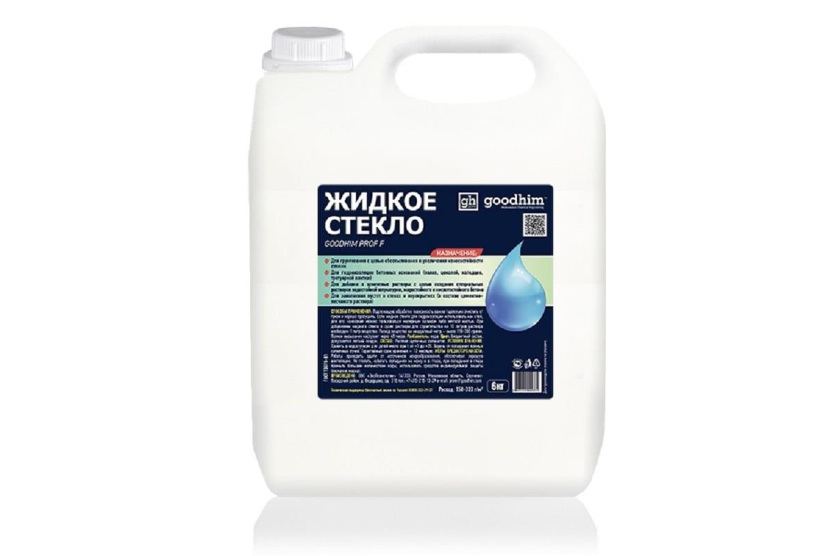 жидкое стекло для бетона цена за 10 литров москва
