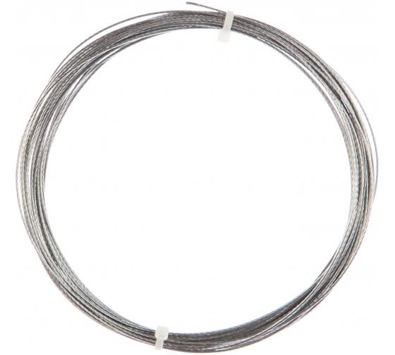 Купить стальной трос стройбат din 3055 1 мм 10 м 276030 во Владимире - низкие цены, отзывы, быстрая доставка, гарантия