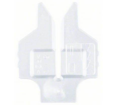 Фото противоскольного вкладыша для лобзиков Bosch 5 шт 2.607.010.305