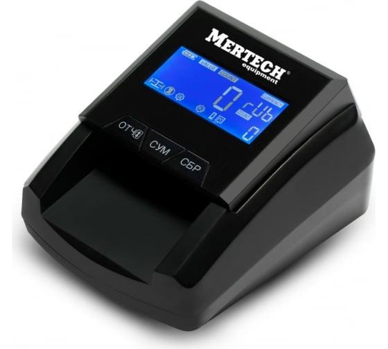 Детектор валют MERTECH D-20A FLASH PRO LCD с АКБ 5048 1