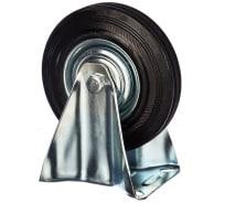 Колесо на неповоротной опоре (125 мм; 100 кг) Стелла 4002-125