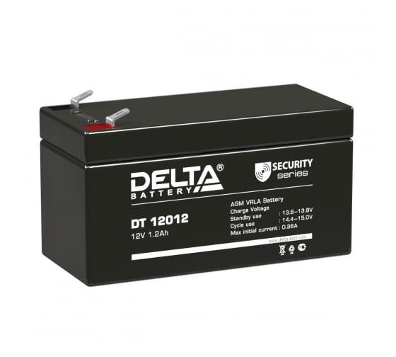 Батарея аккумуляторная Delta DT 12012 1
