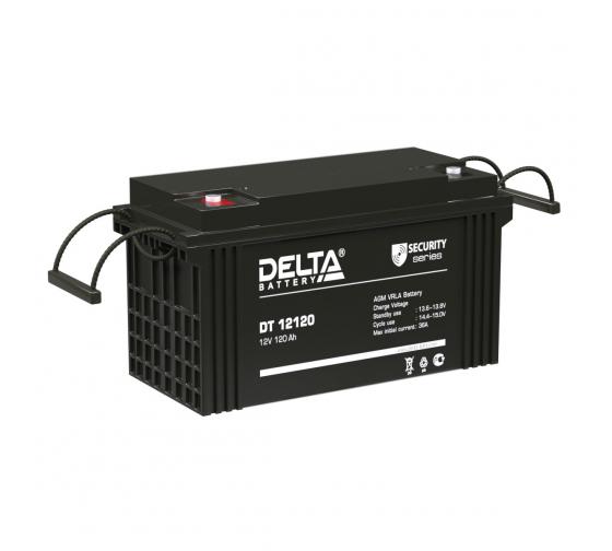 Батарея аккумуляторная Delta DT 12120 1