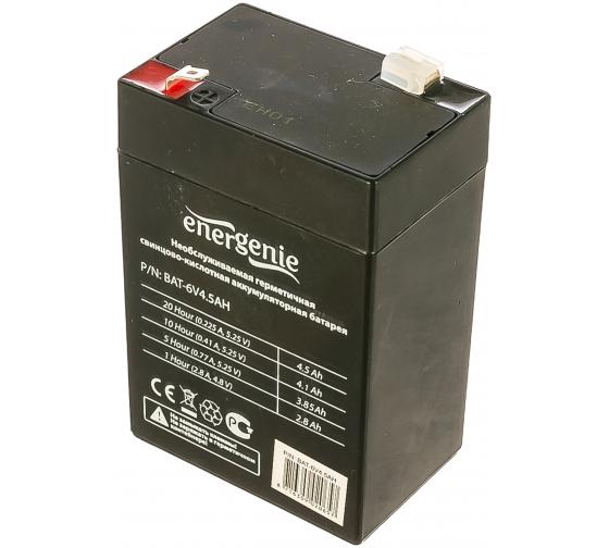 Аккумулятор для источников бесперебойного питания Energenie BAT-6V4.5AH в Краснодаре - купить, цены, отзывы, характеристики, фото, инструкция