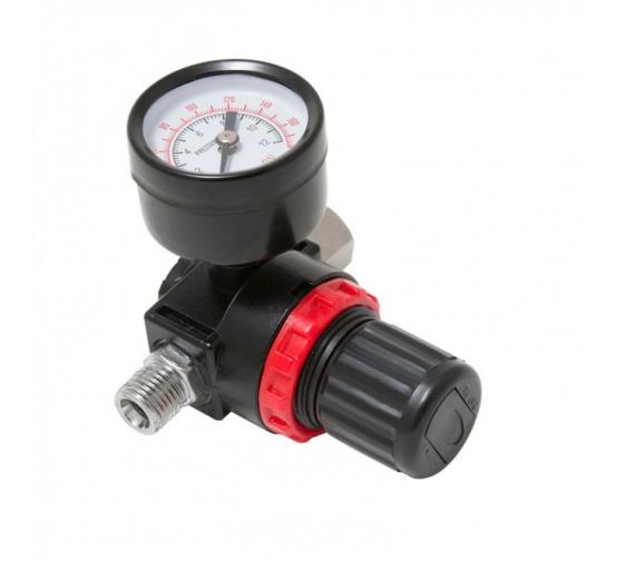 Регулятор давления воздуха с индикатором (1/4Fx1/4M; 0-12 bar) ROCKFORCE RF-2381 в Ростове-на-Дону - купить, цены, отзывы, характеристики, фото, инструкция