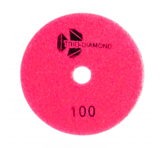 Круг алмазный гибкий шлифовальный Черепашка № 100 125 мм TRIO-DIAMOND 350100 - цена, отзывы, характеристики, фото - купить в Москве и РФ