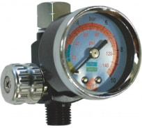 Регулятор давления с манометром для краскопульта Русский Мастер РМ-87326
