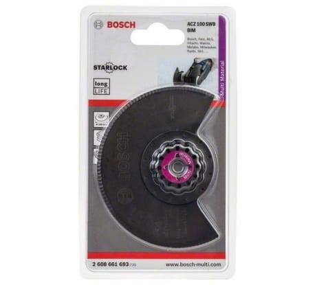Фото сегментированного ножа Bosch BIM 2608661693 с волнистой заточкой