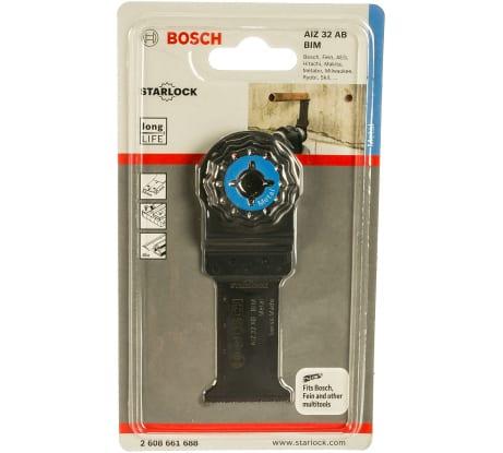 Фото погружного пильного полотна для GOP 10.8 Bosch BIM METAL, 32х30 мм 2608661688