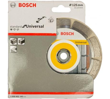 Фото отрезного алмазного диска Bosch серии UPE 2608602192 125х22.2 мм