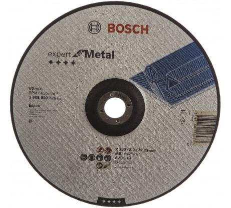 Фото отрезного диска по металлу Bosch 230х3х22,2 мм 2.608.600.226