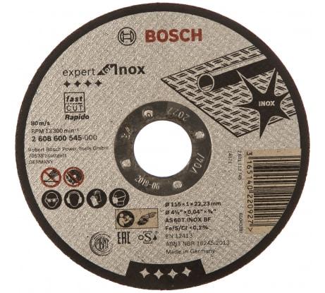 Фото диска отрезного Bosch 2.608.600.545