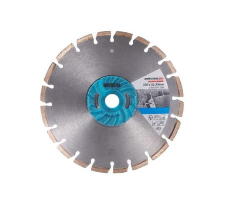 Фото алмазного диска по керамограниту Bosch 230х22, 2х2, 6 мм 2 шт 2.608.600.758