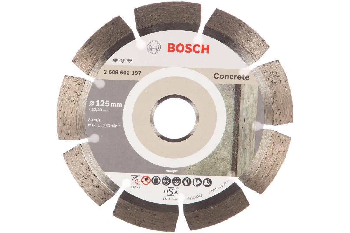 Купить диск по бетону бош 125 оборудование для укладки и распределения бетонной смеси