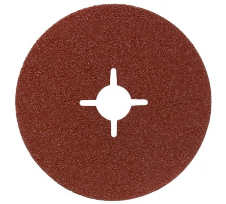 Фото фибрового шлифкруга для УШМ Bosch Expert for Metal 125 мм; P100 2.608.605.478