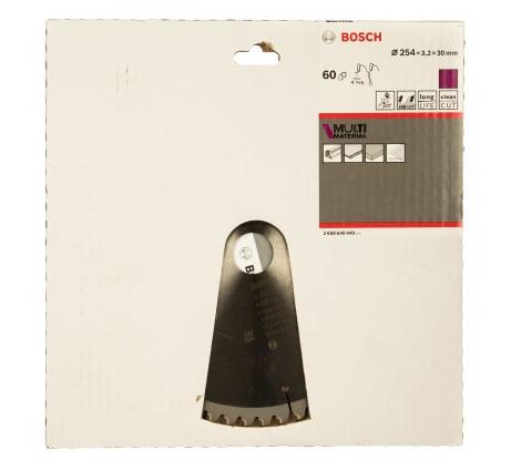 Фото универсального диска пильного Bosch 254х30 мм 2.608.640.449