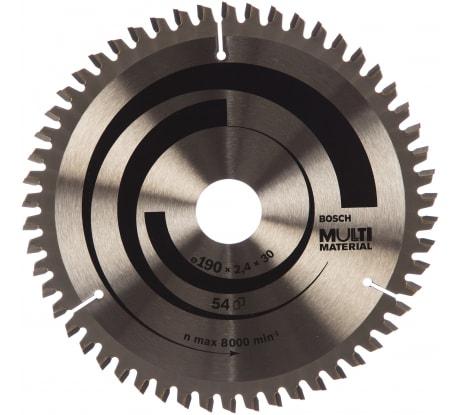 Фото универсального пильного диска Bosch 190х30 мм 2.608.640.509