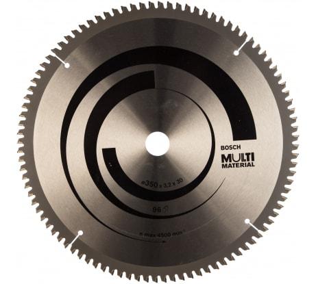 Фото пильного универсального диска Bosch Multi Material 2608640770 350х30 мм; Z96