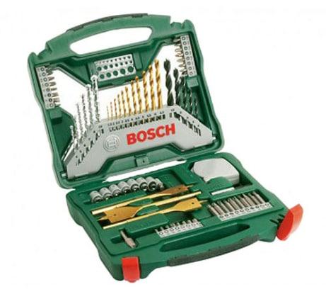Фото набора принадлежностей Bosch x-line titanium 2607019329