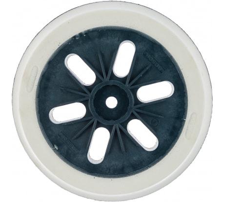 Фото шлифовальной жесткой тарелки для эксцентриковых шлифмашин GЕХ Bosch 150 мм 2.608.601.116