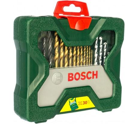 Фото набора принадлежностей Bosch x-line titanium 2607019324