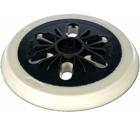 Фото шлифовальной тарелки для эксцентриковых шлифмашин GЕХ Bosch Мягкая, 150 мм 2.608.601.115
