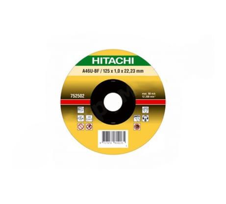Фото отрезного диска по нержавеющей стали Hitachi 180х22,2 мм HTC-752507