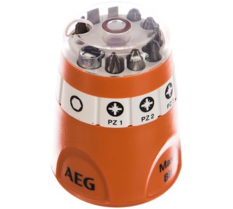 Фото набора AEG Maxi-Bit 25 мм; Sl/Рh/Pz 10 предметов 4932399493